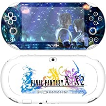 Premium Skin Decals Stickers For PlayStation VITA Slim 2nd Generation PCH-2000 Series Consoles Korea Made - POP SKIN Final Fantasy X | X-2 #03 + Free Gift Screen Protector Film + Wallpaper Screen Image
