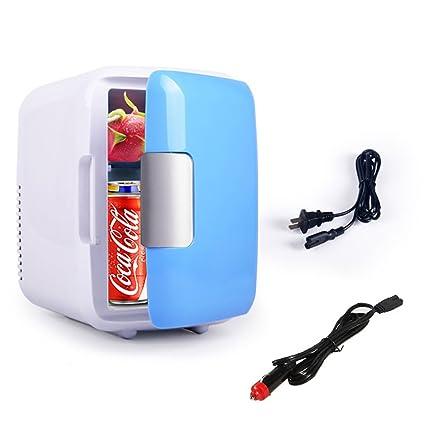 FJW Refrigerador De Coche Portátil Alta Capacidad 4L Enfriador Y Calentador Eléctrico 12V / 220V Enfriamiento