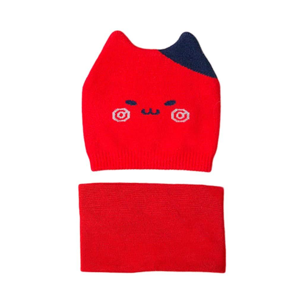 Amazon.com: YJYdada - Gorro de punto para bebé, diseño de ...