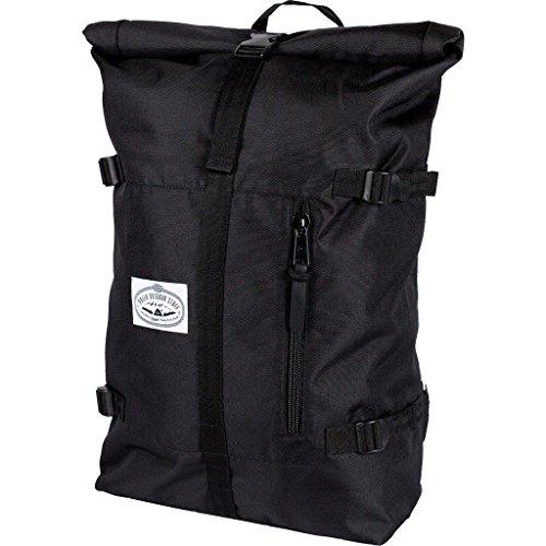 Poler Unisex Classic Rolltopbag, black, One (Roll Skate Backpack)