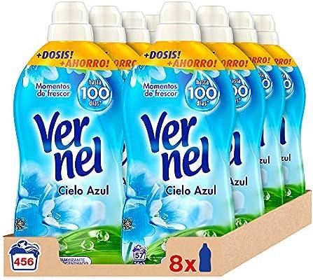 Vernel Detergente Suavizante Concentrado Ropa Cielo Azul, 57 Dosis ...