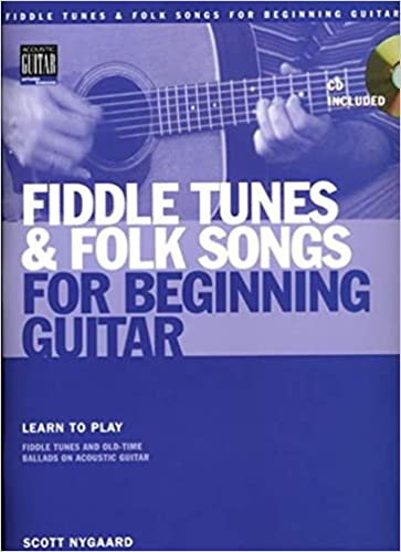 Amazon.com: Fiddle Tunes & Folk Songs for Beginning Guitar Book/CD ...
