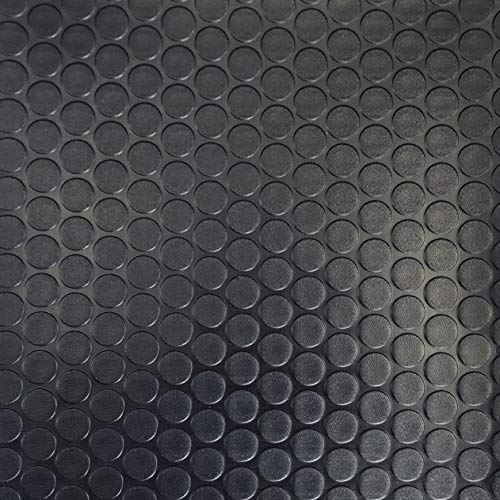 - Floorlot Flooring Commercial Grade Garage Flooring Diamond Plate Utility Floor Mats (7.5FT x 17FT, Coin Black)
