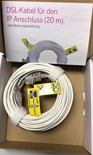 20m Original Telekom Dsl Kabel Vdsl Kabel Fur Ip Amazon De