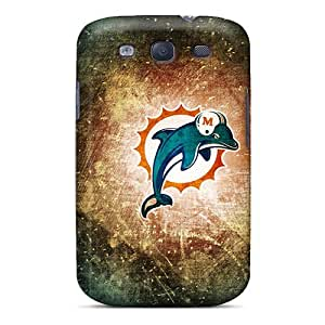 For Galaxy S3 Protector Case Miami Dolphins Phone Cover