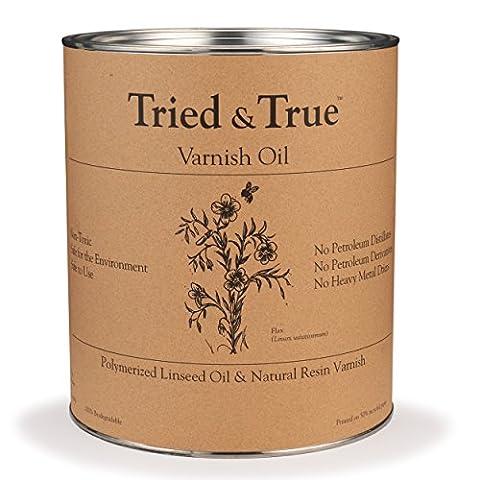 Varnish Oil, Quart - Finish Cutting Boards