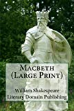 img - for Macbeth (Large Print) book / textbook / text book