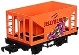 jelly bean car - Bachmann Industries Li'l Big Haulers Jumpin' Jack's Jelly Beans G-Scale Hopper Car, Large