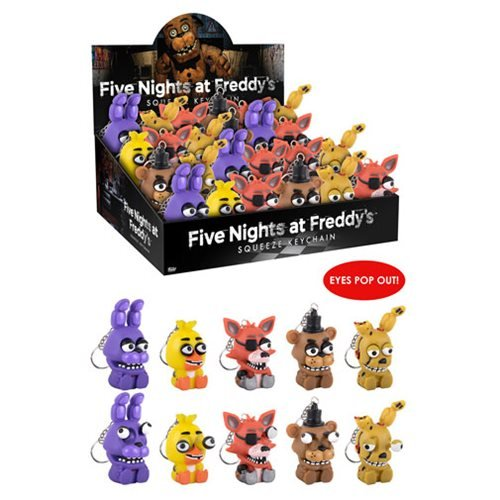 Five Nights at Freddy's Squeeze Key Chain Blind Box (Stile May Vary)