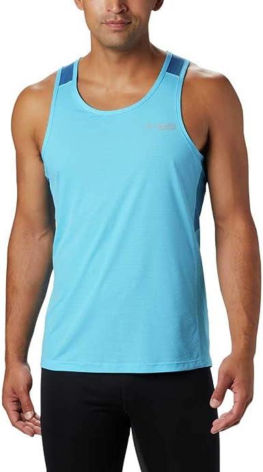 Columbia Titan Ultra Running Tank Camiseta sin Mangas para Hombre. Hombre