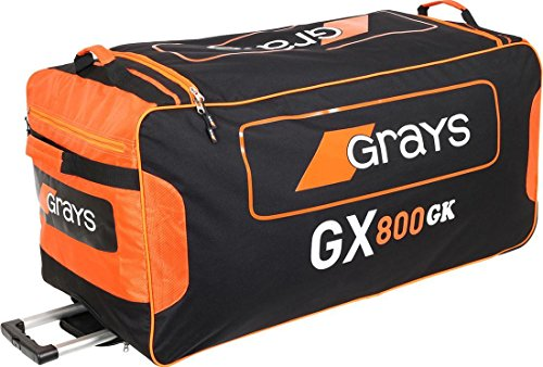 Goalkeeping Sticks - Grays Gx800 Gk Goalie Field Hockey Sports Holdall Wheelie Bag