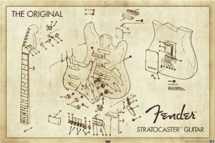 Fender Guitar Schematics - Fav Wiring Diagram on