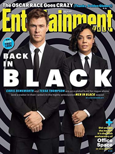 Entertainment Weekly Magazine (January 18 2019) Exclusive First Look: Men in Black International Chris Hemsworth and Tessa Thompson
