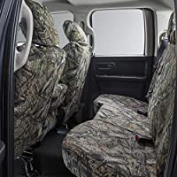 Covercraft Carhartt Mossy Oak Camo SeatSaver Second Row Custom Fit Seat Cover for Select Chevrolet Colorado//GMC Canyon Models Duck Weave Break-Up Country SSC6352CAMB