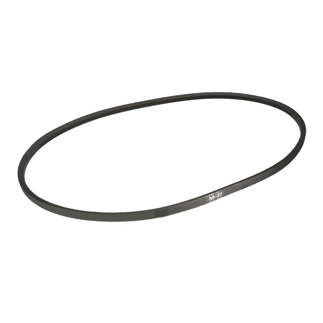 uxcell/® K-22 V Belt Machine Transmission Rubber,Black Replacement Drive Belt.