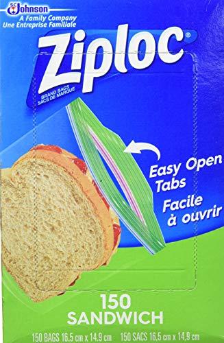 Ziploc Freezer Bags Gallon 120 Count