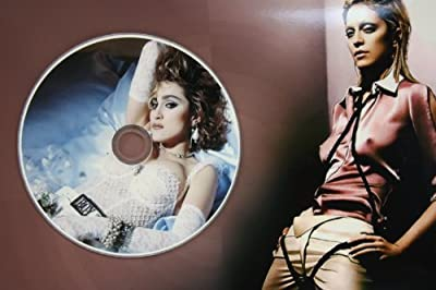 Madonna Unique Limited Edition Picture Disc CD Rare Collectible Music Display