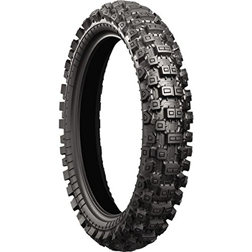 Bridgestone X40 Hard Terrain Rear Tire - 100/90-19, Position: Rear, Rim Size: 19, Tire Application: Hard, Tire Size: 100/90-19, Tire Type: Offroad, Load Rating: 57, Speed Rating: M 003097