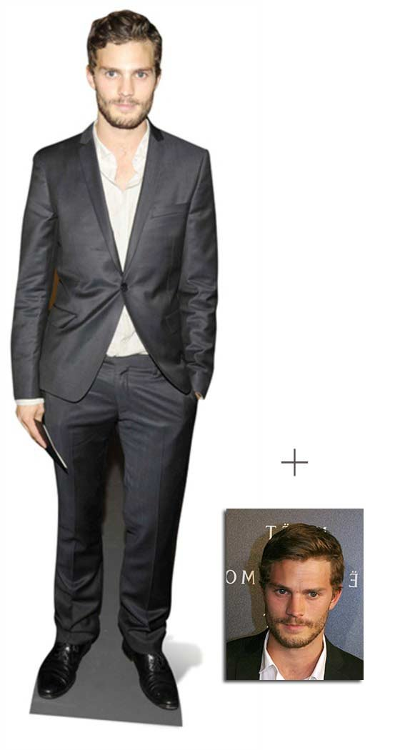 Fan Pack - Jamie Dornan Lifesize Cardboard Cutout / Standee - Includes 8x10 (20x25cm) Star Photo