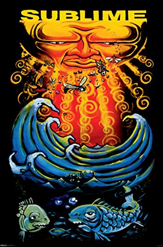 Poster (24x36) Sublime - Sun and Fish Music (Sublime Fish)