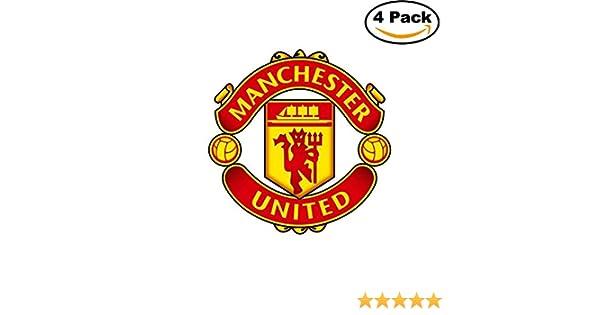 manchester united fc vinyl decal logo epl english football soccer 4