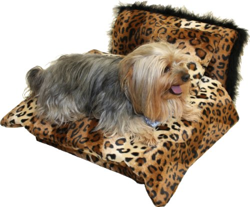 Fantasy Furniture Mini Bed Leopard Pet Bed, My Pet Supplies
