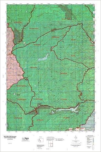 WA GMU 356 Bumping Hunt Area / Game Management Units (GMU) Map ...