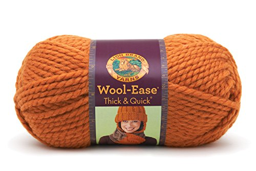 Lion Brand Lion  640-136F Wool-Ease Thick & Quick Yarn , ...