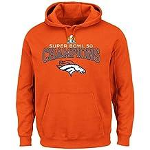 """Denver Broncos Majestic NFL Super Bowl 50 Champions """"Choice"""" Men's Sweatshirt"""
