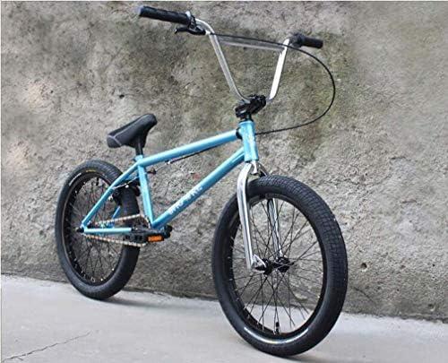 """20""""BMXバイク、強度クロムモリブデン鋼フレーム、48キークランク、MID BB、BMXプロUブレーキと高強度ナイロンペダル"""