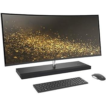 """Latest 2017 HP ENVY 34 CURVED All-In-One Desktop (Intel Core i7-7700T Quad Core Processor, 34"""" WQHD LED (3440x1440) Display, AMD Radeon RX460, Win 10 Pro, 512GB PCIe + 2TB Hard Drive, 32GB DDR4 RAM)"""