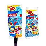 Vileda Supermocio 3 Action Mop + Refill [Kitchen & Home]