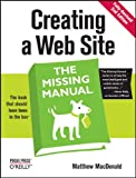 Creating Web Sites, Matthew MacDonald, 0596520972