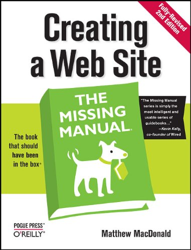 Creating a Web Site: The Missing Manual by Brand: O'Reilly Media
