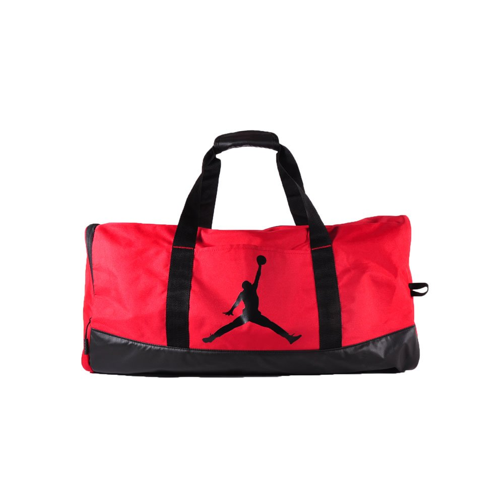 9522863b0aee Amazon.com  Nike Air Jordan Jumpman Trainer Duffel GYM Bag (Black Silver)   Sports   Outdoors