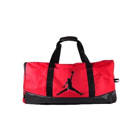 5d719b8fe5dae0 Nike Air Jordan Jumpman Trainer Duffel Gym Bag (Gym Red)  Amazon.ca ...