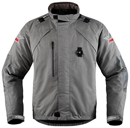[해외] Icon 아이콘 Raiden DKR Monochromatic Jacket 2017모델 재킷 그레이 XXL
