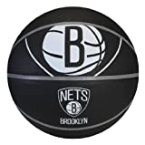 Spalding NBA Brooklyn Nets Courtside Rubber Basketball