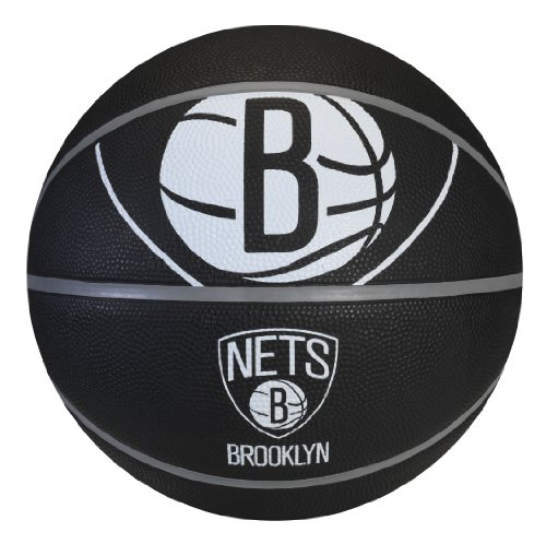 Find Discount Spalding NBA Brooklyn Nets Courtside Rubber Basketball
