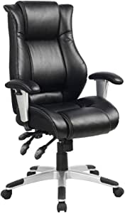 VIVA OFFICE Hot Ergonomic Bonded Leather Office Chair, High Back Fully Adjustable Executive Chair-Viva0566A