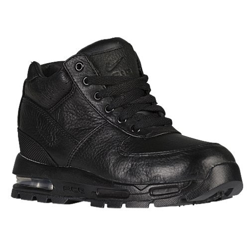 NIKE BOYS MAX GOADOME BOOT Black - Footwear/Boots 13