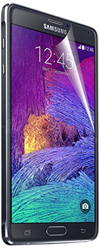 RND Accessories All-In-One Screen Protectors for Samsung Galaxy Note 4 - Retail Packaging - Crystal Clear/Anti-Glare