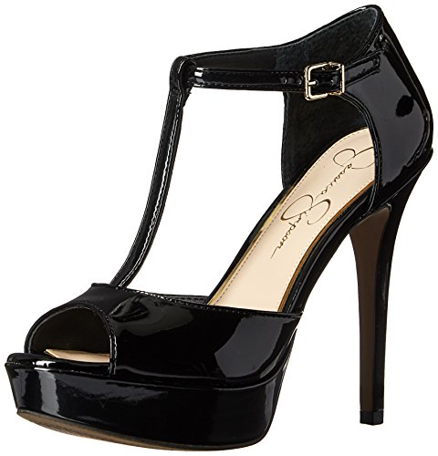 - Jessica Simpson Women's Bansi Platform-Pump, Black, 9 Medium US