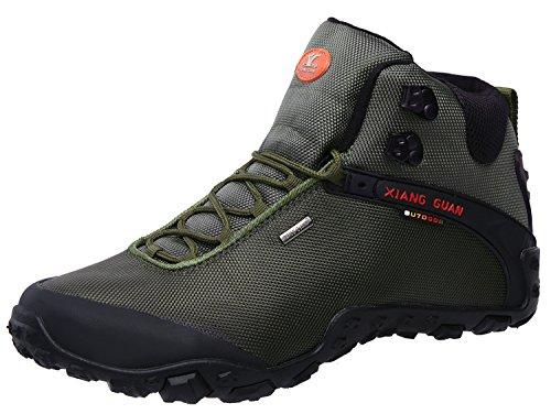 XIANG Hiking GUAN Men's Outdoor High-Top Oxford Water Resistant Trekking Hiking XIANG Boots B07585RVLG Shoes 8dd947