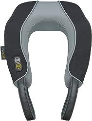 Ecomed MC-85E Massagesitzauflage F/ür B/üro und Auto geeignet -23300 Massageauflage mit 2 Intensit/ätsstufen Vibrationsmassage mit W/ärmefunktion Zur Entspannung f/ür den gesamten R/ücken