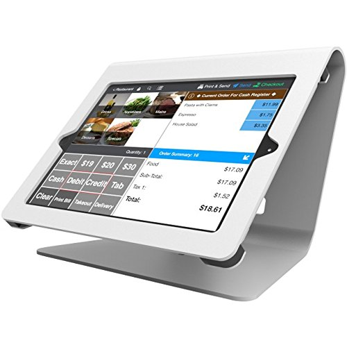Compulocks 260NPOSW Nollie POS Stand / Kiosk for iPad Air/Air 2/ Pro 9.7 (White) by Compulocks