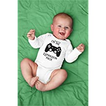 Funny I'm The Expansion Pack Baby Bodysuit for Video Game Enthusiast For Daddy's Gamer Fan