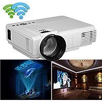 Elevin(TM) 1000 Lumens LED Projector Home Theater USB TV 3D HD 1080P Business VGA/HDMI