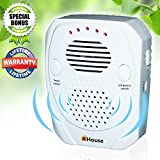 BH1 – Pest Control, Ultrasonic Repeller, Electronic Plug in, Best Repellent Get Rid Of – Rodents, Mice, Rats, Roaches, Spiders, Bed Bugs & insects, Has a USB port, Use Indoor & Outdoor