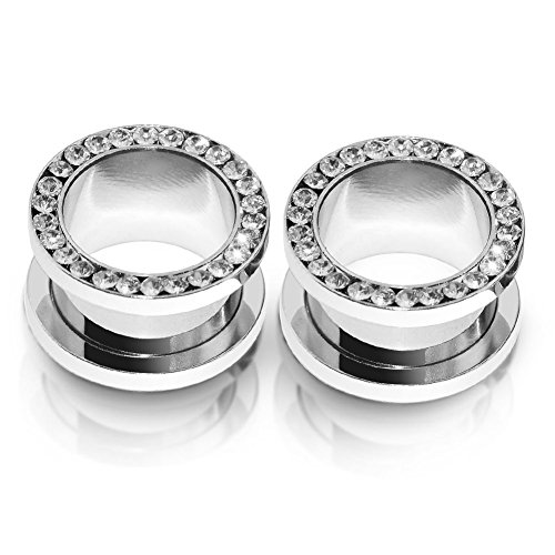 00g stainless steel plugs - 9